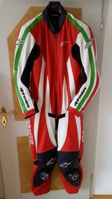 Alpine Stars one piece Motorcycle Suit in Hohenfels, Germany