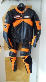 FLM Two Piece Motorcycle Suit in Hohenfels, Germany