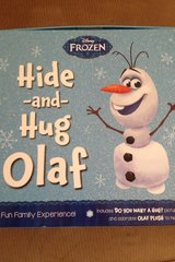 Frozen Hide and Hug Olaf Game in Moody AFB, Georgia