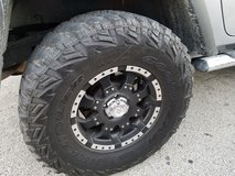 Set of four off road tires in Kankakee, Illinois