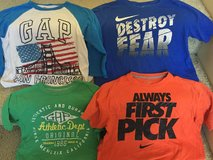 Boys Large, shirts (gap & Nike) 4 in Baytown, Texas