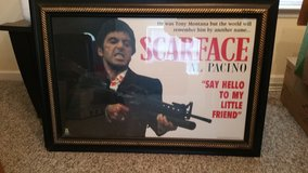 Scarface photo collectable in Moody AFB, Georgia