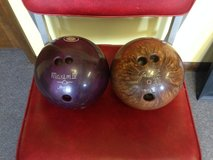 Two Bowling Balls in Perry, Georgia