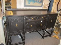 Antique chalk painted buffet in Elgin, Illinois
