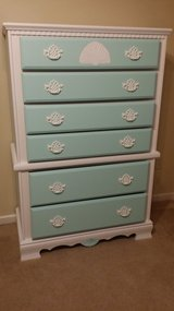 Teal 6 drawer dresser in Hinesville, Georgia
