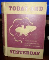 "Vintage ""Today and Yesterday"" A New History of Our Country 1943 in Macon, Georgia"