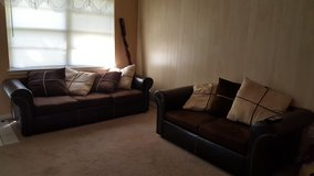 Sofa Set with Recliner in Baytown, Texas