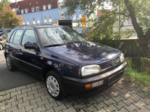 Volkswagen Golf- brand new inspection in Hohenfels, Germany