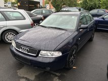 Reliable Audi station wagon- brand new inspection in Hohenfels, Germany