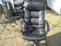 HIGH BACK LEATHER OFFICE CHAIR in Hinesville, Georgia