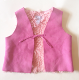 12 mos pink  vest - children's place in Perry, Georgia