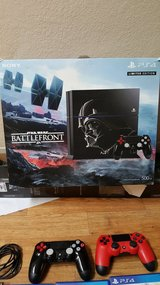 PS4 awesome bundle starwars battlefront limited edition with extras in Jacksonville, Florida