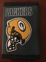 Green Bay Packers Wallet. New in Fairfield, California