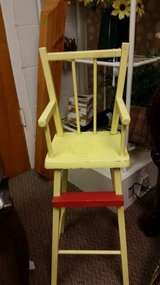Vintage doll chair in Fort Campbell, Kentucky