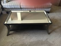 COCTAIL TABLE-MIRROR BY CIINDY CRAWFORD COLLECTION in Wilmington, North Carolina