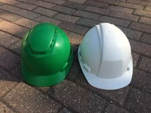 Two hard hats in Schaumburg, Illinois