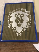 Handmade etched mirror in Fort Irwin, California
