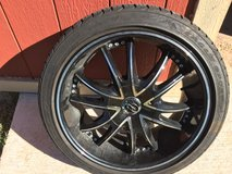 225/40/18. Asking $450 VCT rims in Lawton, Oklahoma