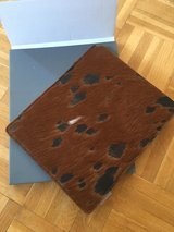 ACKERMANN cow skin Ipad Designer Cover (NEW) in Ramstein, Germany