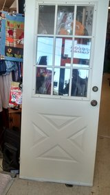 Back Door for House 32 inch  9 glass panes in Houston, Texas