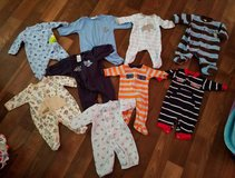 Newborn baby boy clothes in Barstow, California