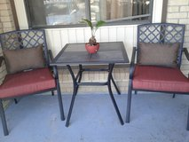 3 pieces patio set in Fort Bliss, Texas