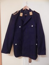 German Uniform Jacket, Blue, Size 36 in Stuttgart, GE