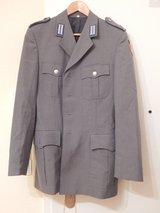 German Uniform Jacket, Grey, Size 44 in Stuttgart, GE