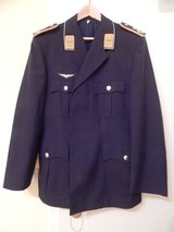 German Uniform Jacket, Blue, Size 44 in Stuttgart, GE