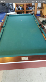 Pool table in Watertown, New York