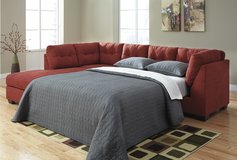 2 DAYS ONLY! ASHLEY MAIER SIENNA Sectional SLEEPER- Dream Rooms Furniture! in Kingwood, Texas