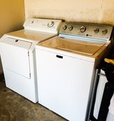 MATTAG BRAVOS MCT WASHER AND DRYER SET STILL IN PLASTIC in Camp Pendleton, California