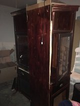 Cash Only real solid wood you can see wear movers brake it still great condition just needs repa... in Lackland AFB, Texas