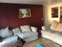 Two large couches in Travis AFB, California
