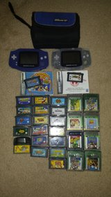 2game boy advance+28 games+travel cases in Wilmington, North Carolina