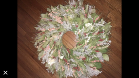 "Beautiful 33"" dried floral wreath in Bartlett, Illinois"