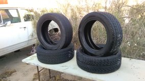 {Set of 4}  Douglas Performance GT-H 205/55 R16 Tires---Used in 29 Palms, California