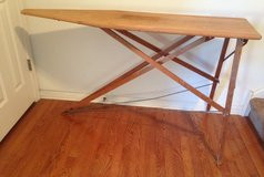 Wooden Vintage Ironing Board Rid-Jid in Morris, Illinois
