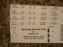 Sporting KC vs. Central FC, Oct 19 at KC, 4 tickets in Fort Leavenworth, Kansas