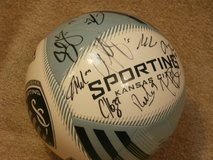 Autographed Sporting KC team ball, 24 signatures in Kansas City, Missouri