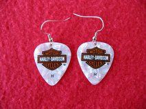 """Harley-Davidson Earrings ~ Guitar Pick Earrings Are """"Brand New"""" ( 8 Pair Available ) in Lockport, Illinois"""