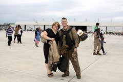MILITARY HOMECOMING PHOTOGRAPHY in Camp Lejeune, North Carolina