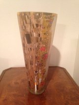 "Artis Orbis Beautiful Large Glass ""The Kiss"" Vase  by Goebel in Fort Leonard Wood, Missouri"