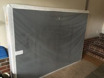 New queen box spring. Never used in Fort Bragg, North Carolina