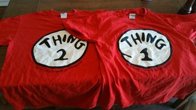 Thing One and Thing Two Adult shirts Medium in Camp Pendleton, California