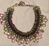 CHAINMAIL & JEWELED MULTI-COLOR COLLAR NECKLACE in Lakenheath, UK