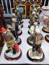 Emmett Kelly Jr. Flambro Hobo Porcelain Circus Clown Figurine Statues in Fort Leonard Wood, Missouri