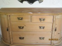 Victorian Bow Fronted Pine Dresser/Chest - Great condition in Lakenheath, UK