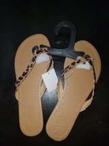 Leopard Thong Sandals in Nellis AFB, Nevada