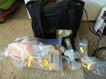 Medela breast pump with accessories in Nellis AFB, Nevada